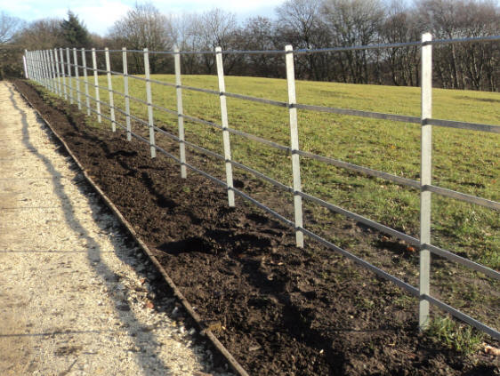 estate fencing in london